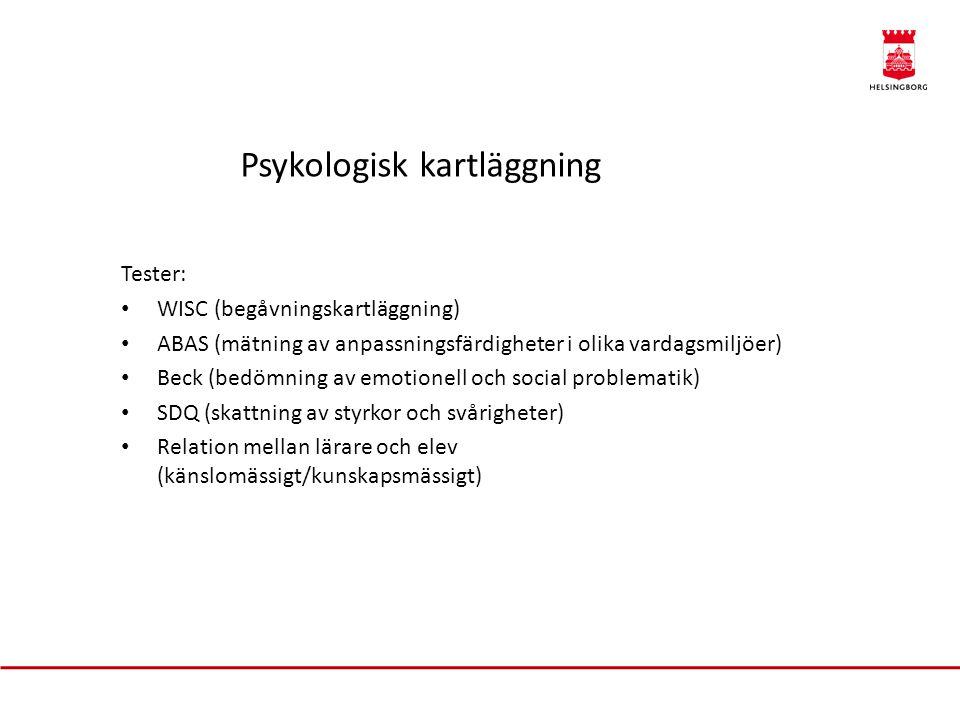 Psykologisk kartläggning