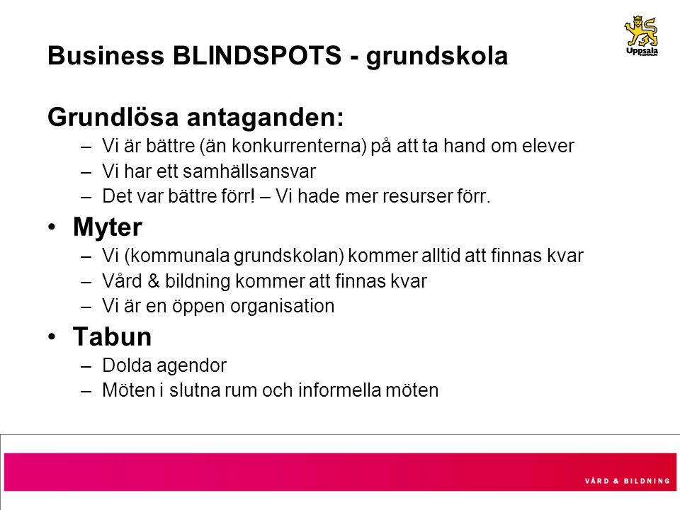 Business BLINDSPOTS - grundskola