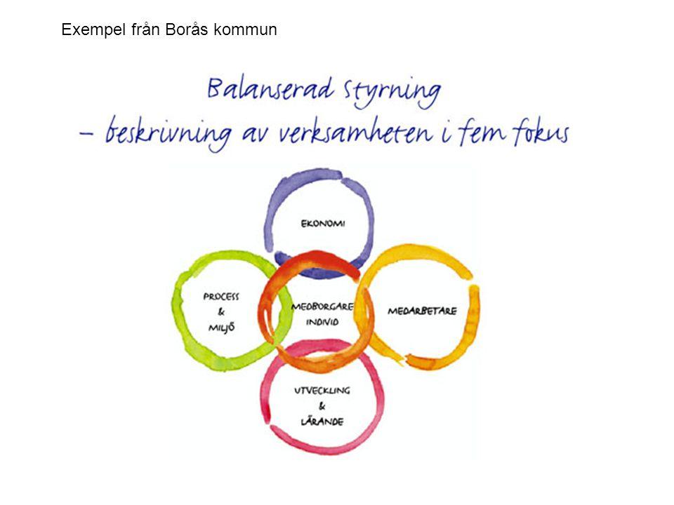 Exempel från Borås kommun