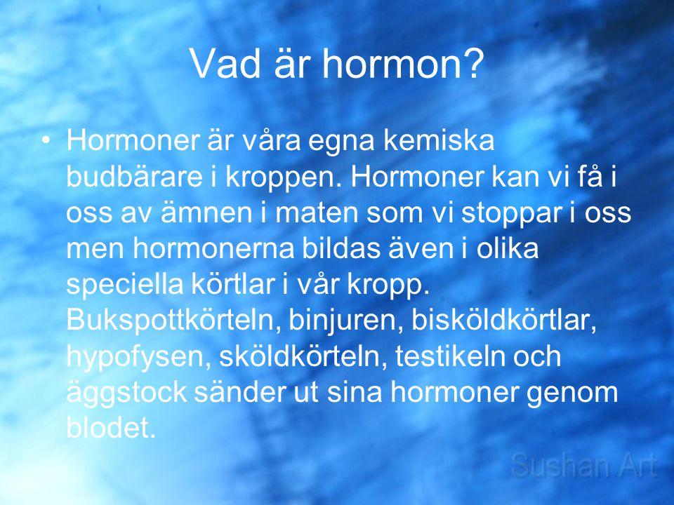 Vad är hormon