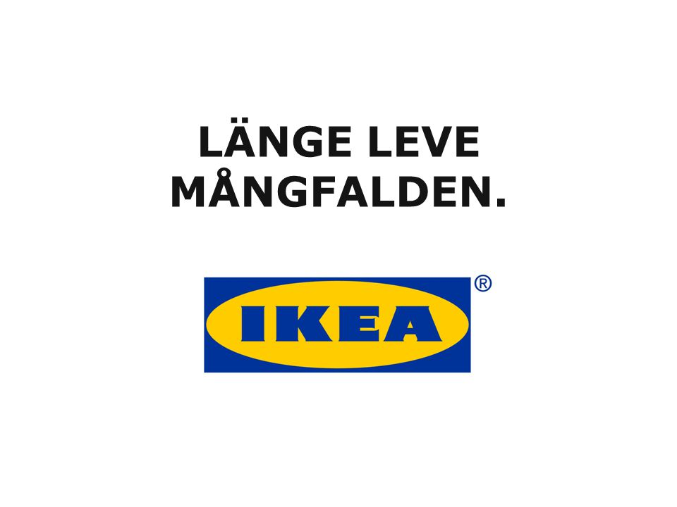 LÄNGE LEVE MÅNGFALDEN.