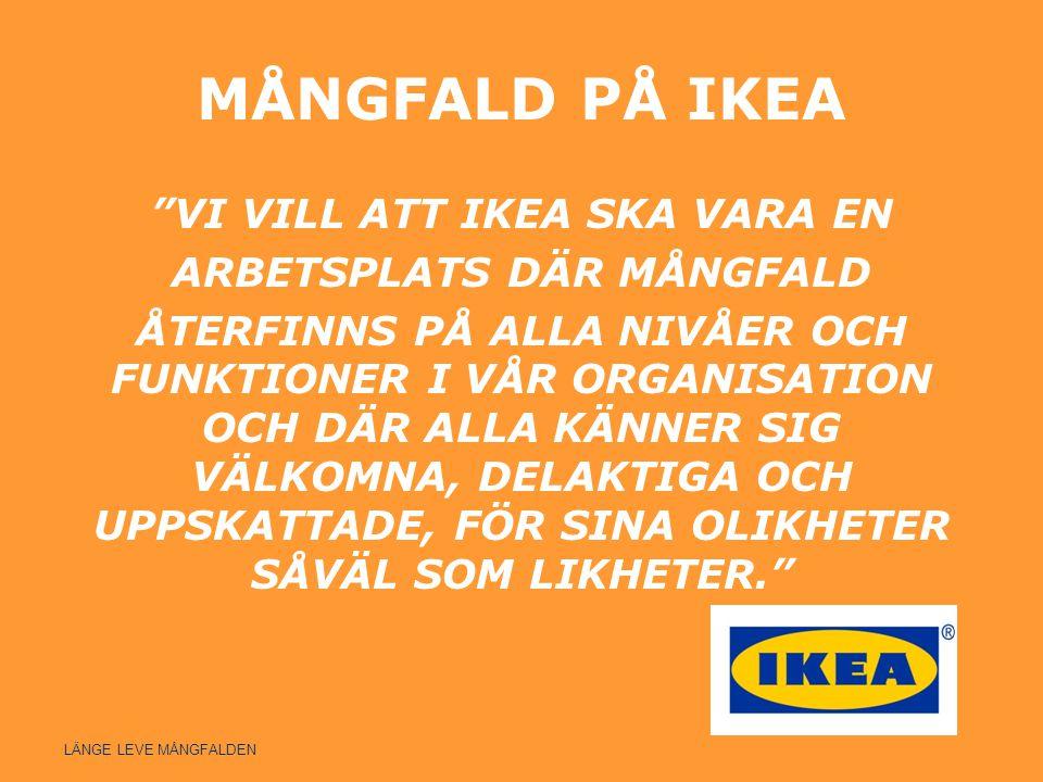 MÅNGFALD PÅ IKEA