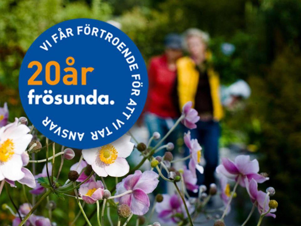 EwaMargreth: Frösunda fyller 20 år. Följ med på en resa till det Frösunda vi är idag.