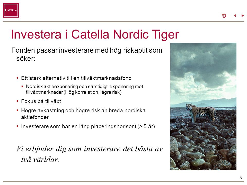 Investera i Catella Nordic Tiger