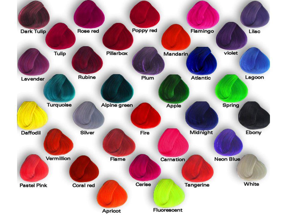Det finns 34 färger Så här gör du