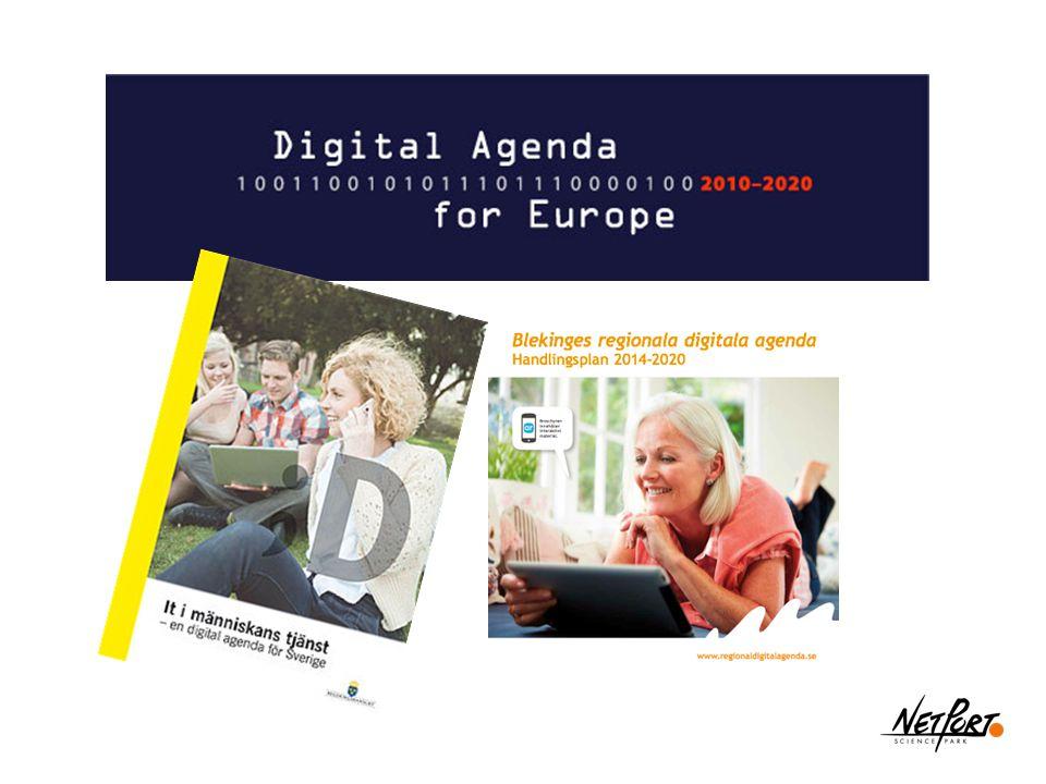 Digital agenda för Europa lanserades 2010.