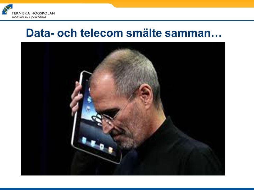 Data- och telecom smälte samman…