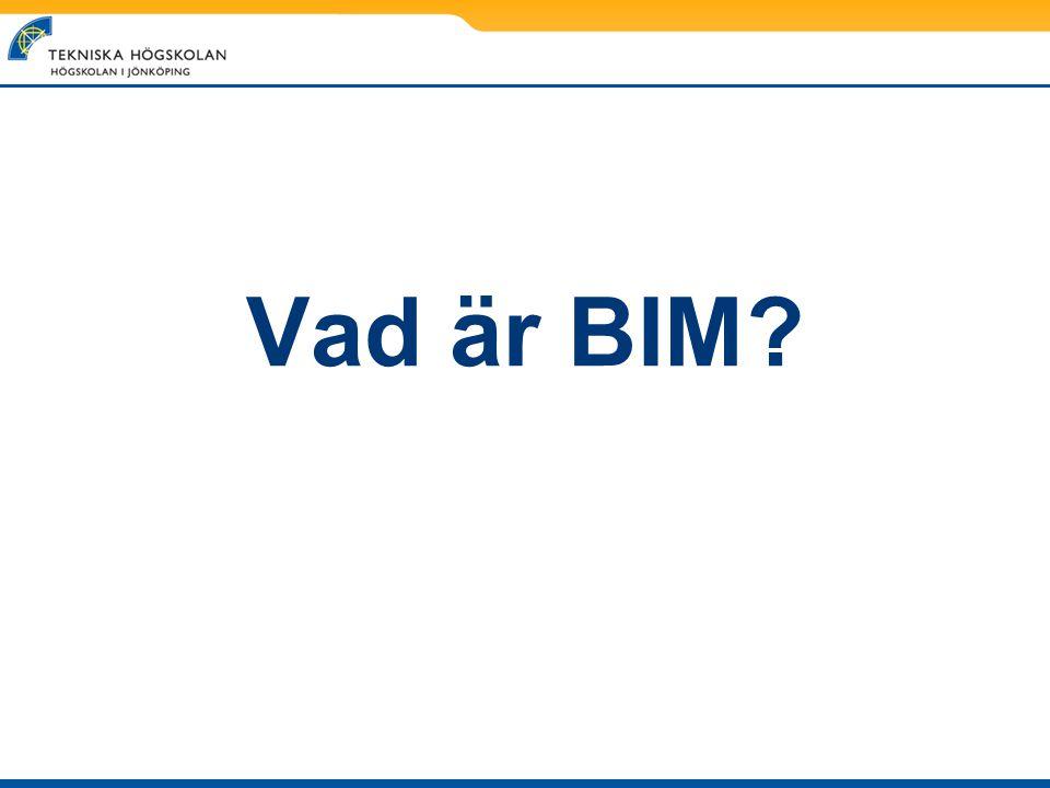 Vad är BIM
