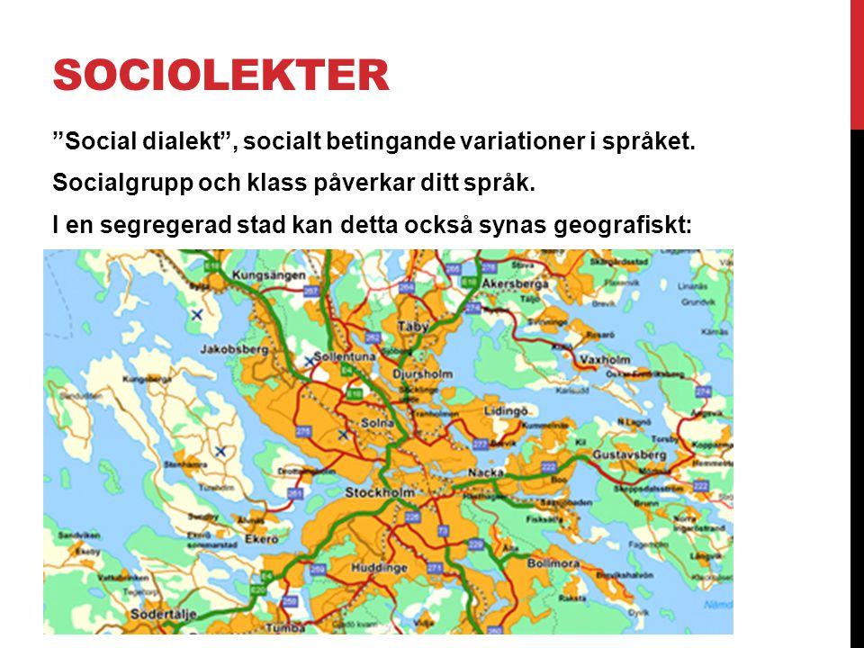 SOCIOLEKTER
