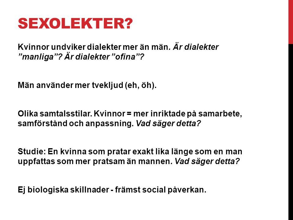 SEXOLEKTER