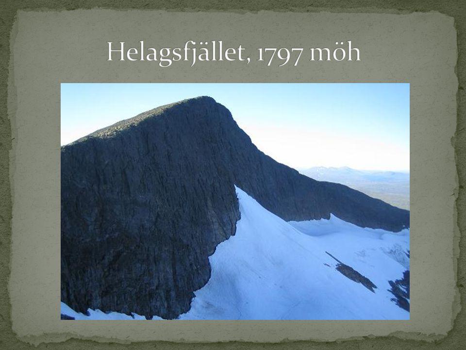 Helagsfjället, 1797 möh
