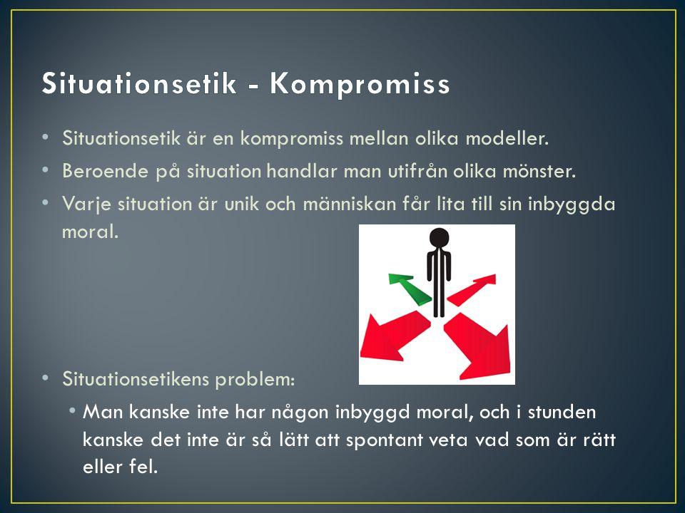 Situationsetik - Kompromiss