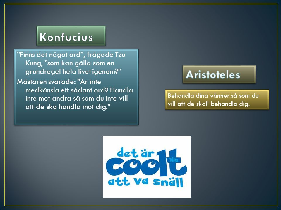 Konfucius Aristoteles