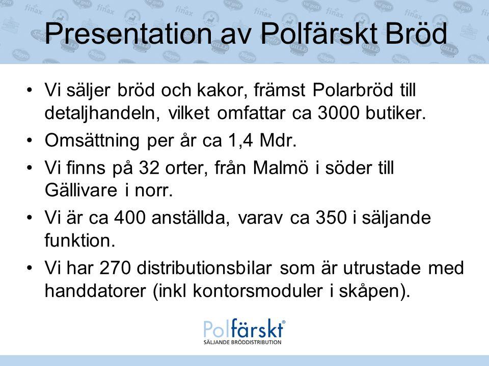 Presentation av Polfärskt Bröd