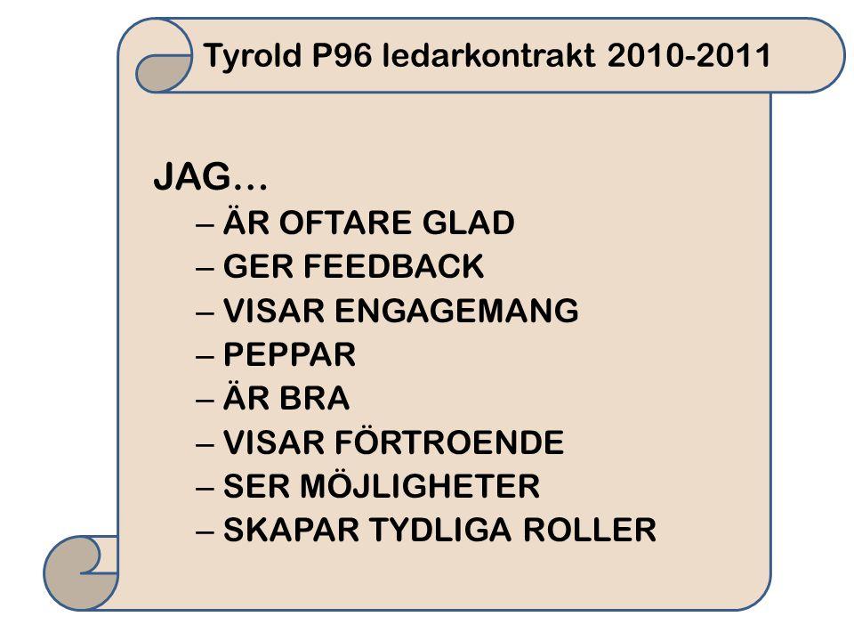 Tyrold P96 ledarkontrakt 2010-2011