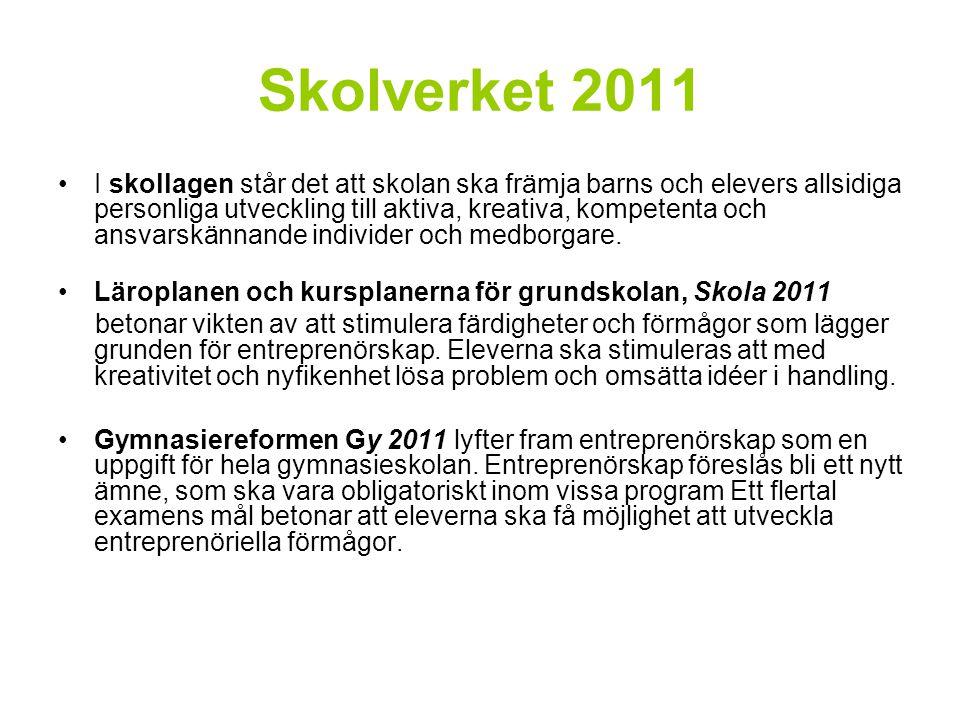 Skolverket 2011