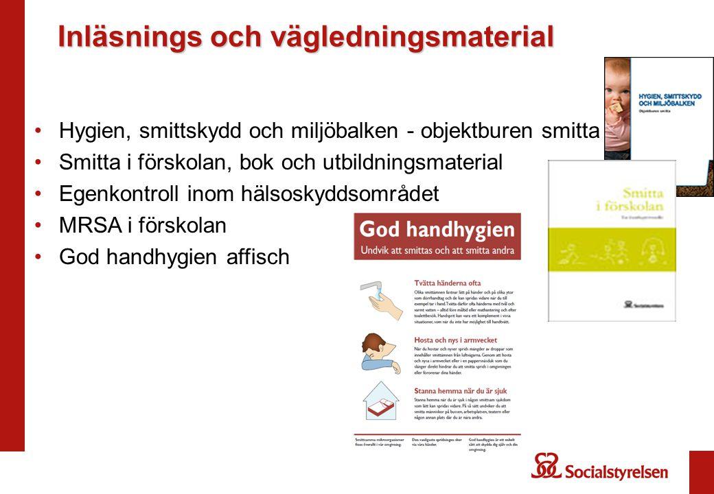 Inläsnings och vägledningsmaterial