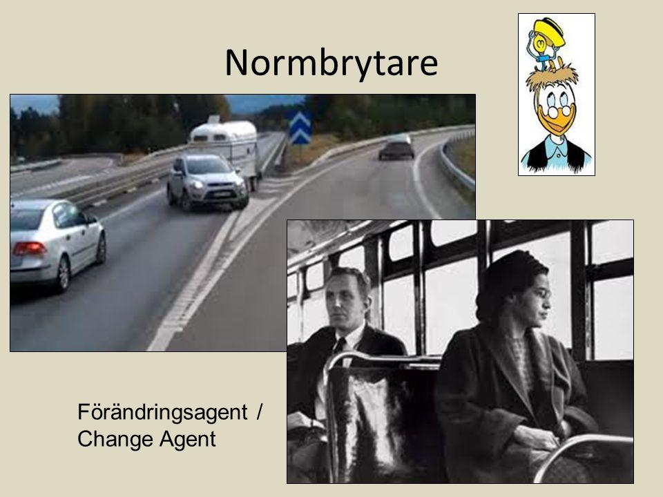 Normbrytare Förändringsagent / Change Agent