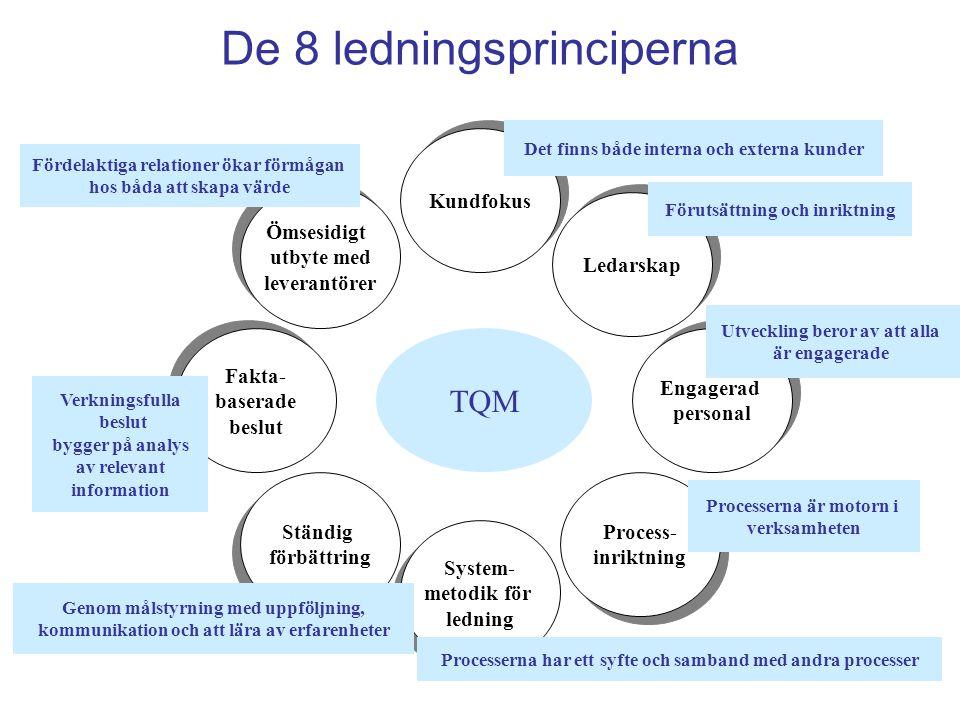 De 8 ledningsprinciperna