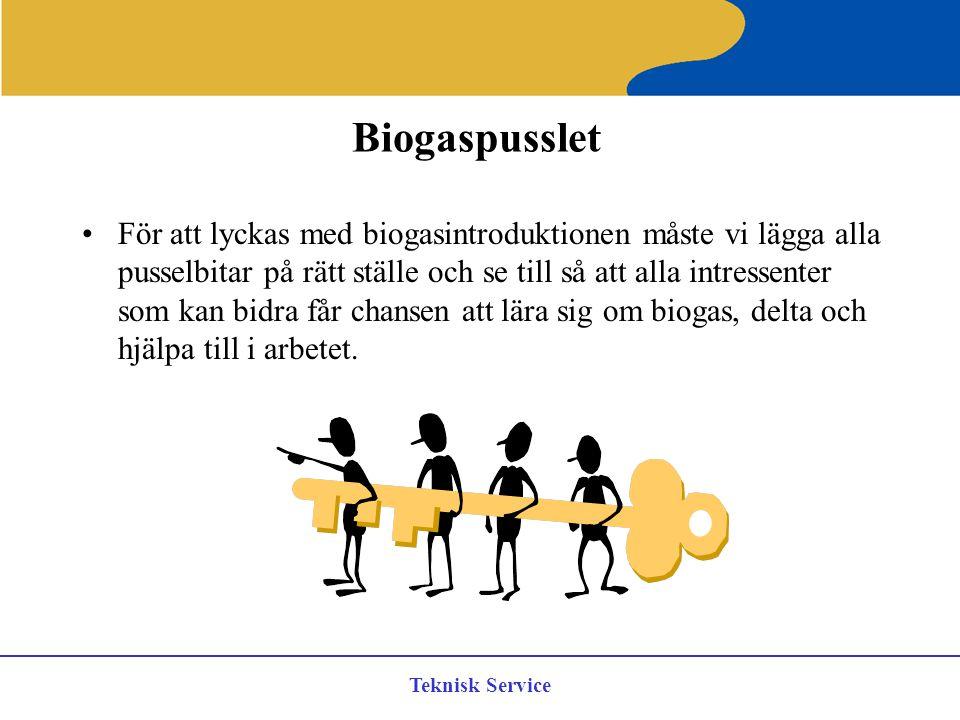 Biogaspusslet