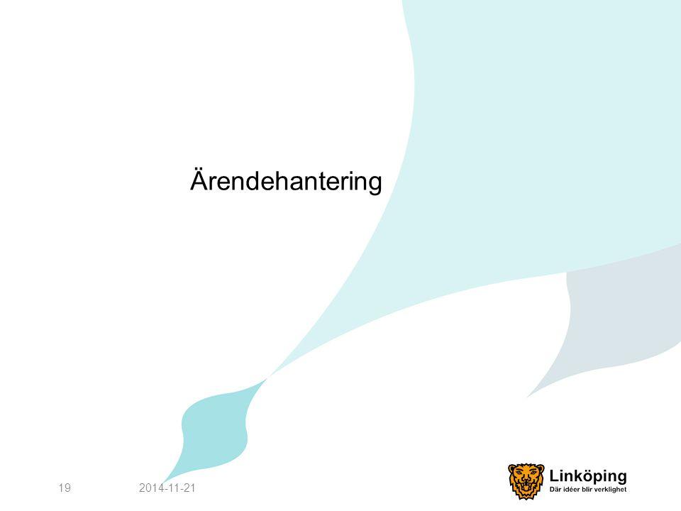 Ärendehantering 2017-04-07