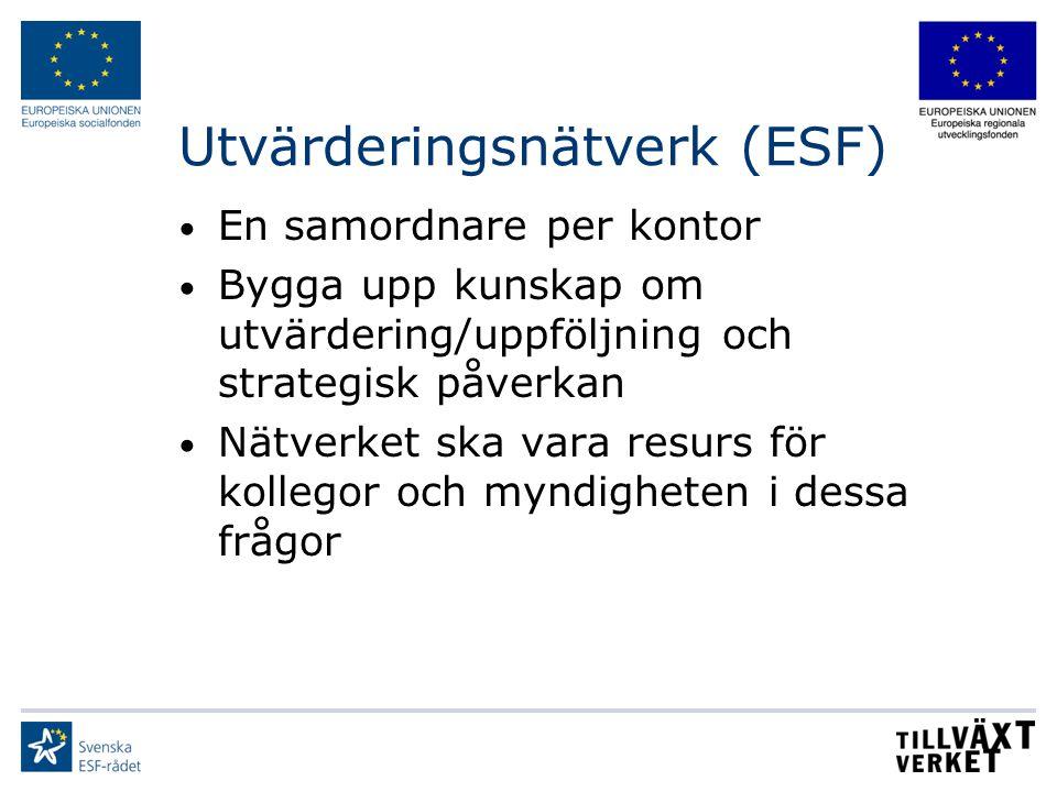 Utvärderingsnätverk (ESF)
