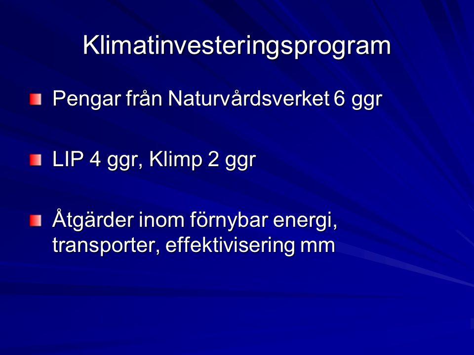 Klimatinvesteringsprogram