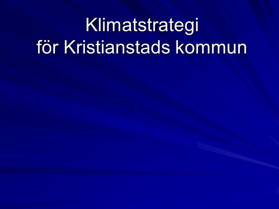 Klimatstrategi för Kristianstads kommun
