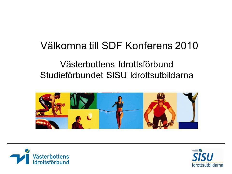 Västerbottens Idrottsförbund Studieförbundet SISU Idrottsutbildarna