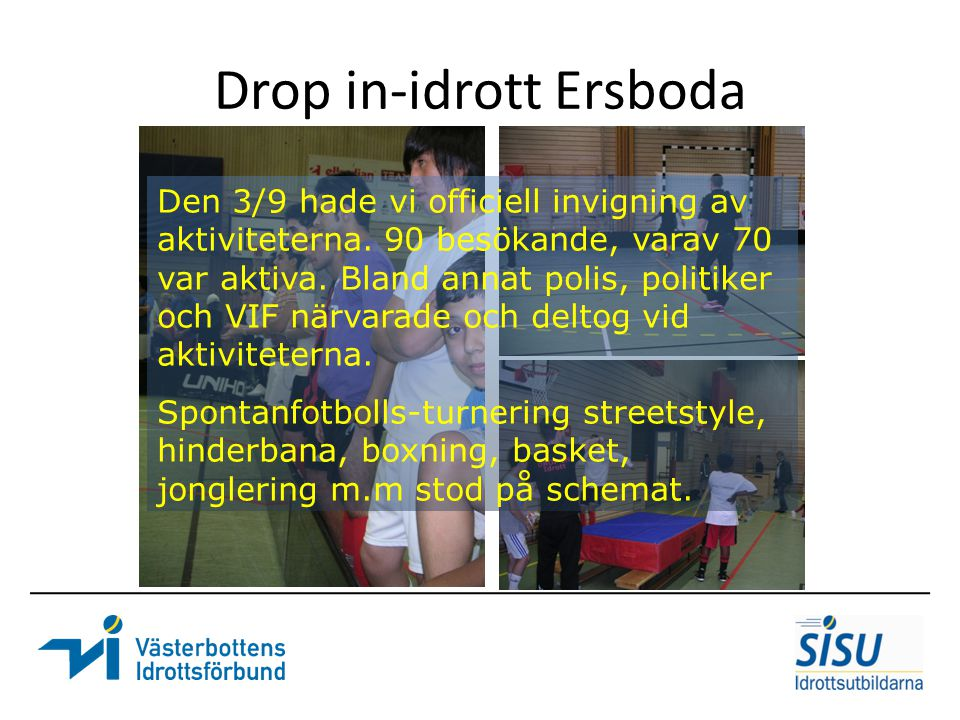 Drop in-idrott Ersboda