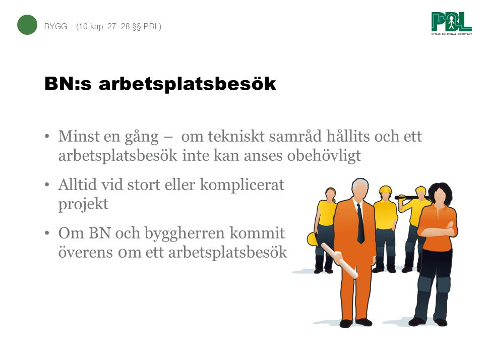 BN:s arbetsplatsbesök