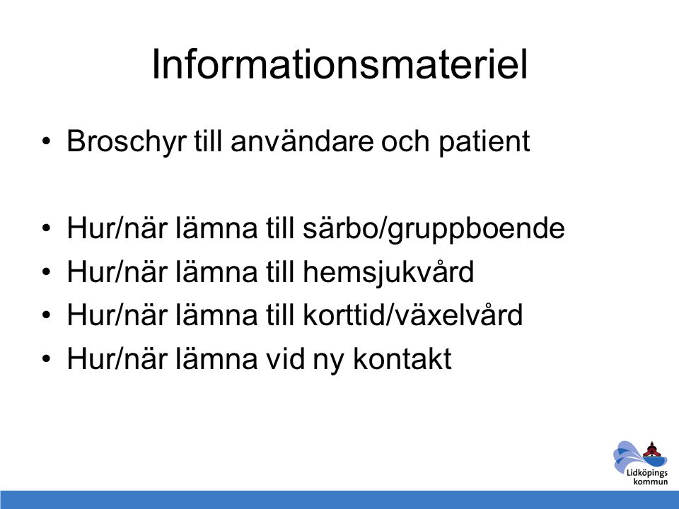 Informationsmateriel