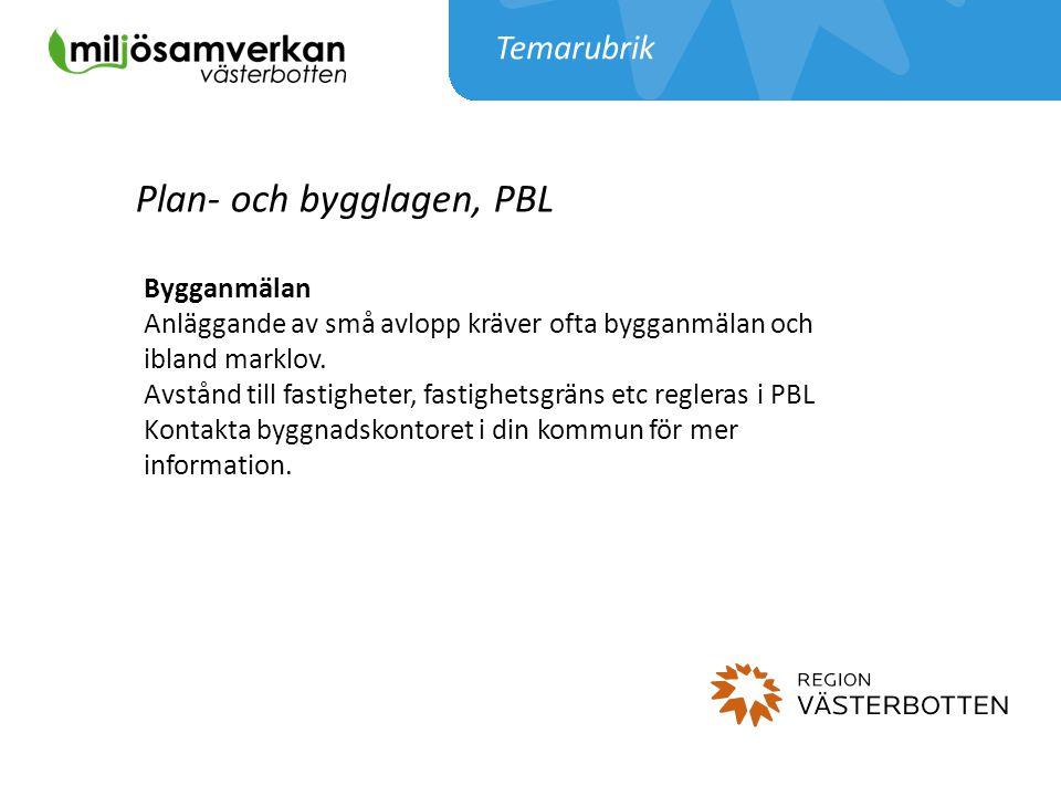 Plan- och bygglagen, PBL
