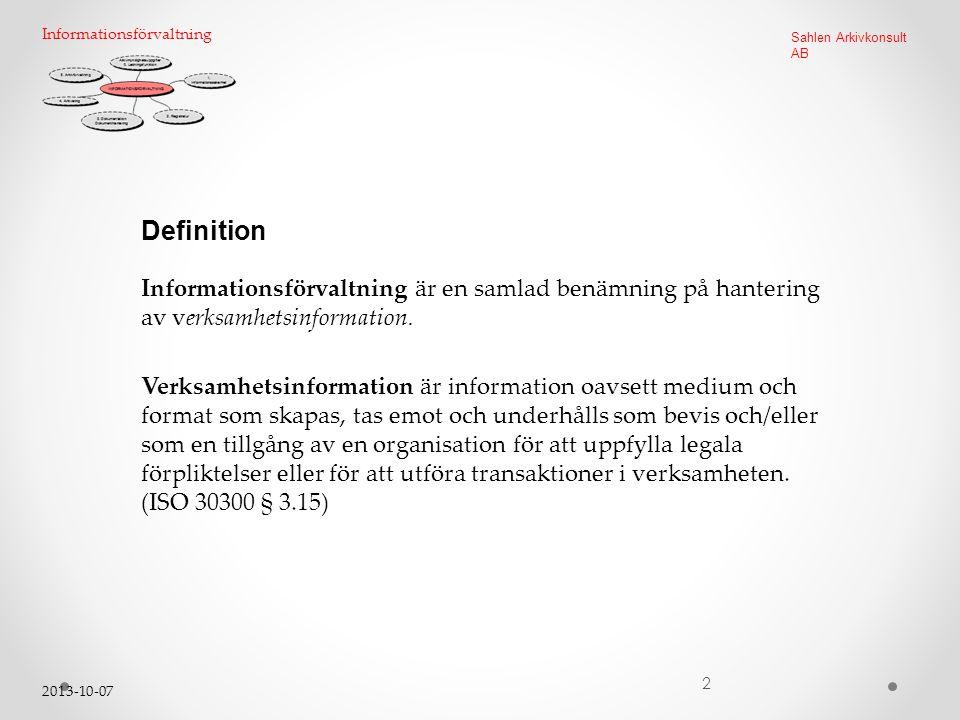 Informationsförvaltning