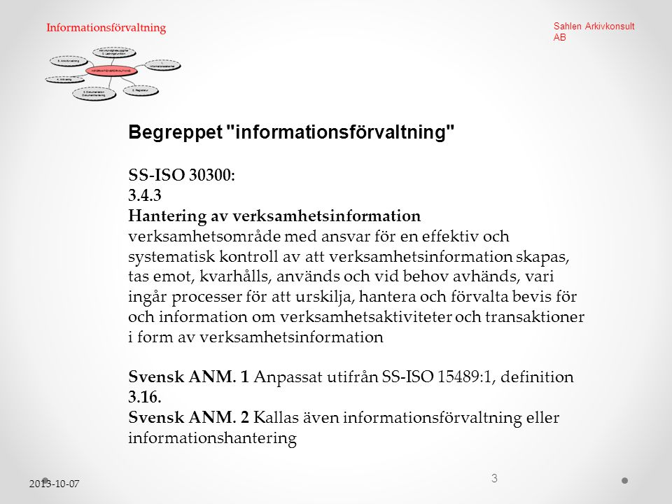 Begreppet informationsförvaltning