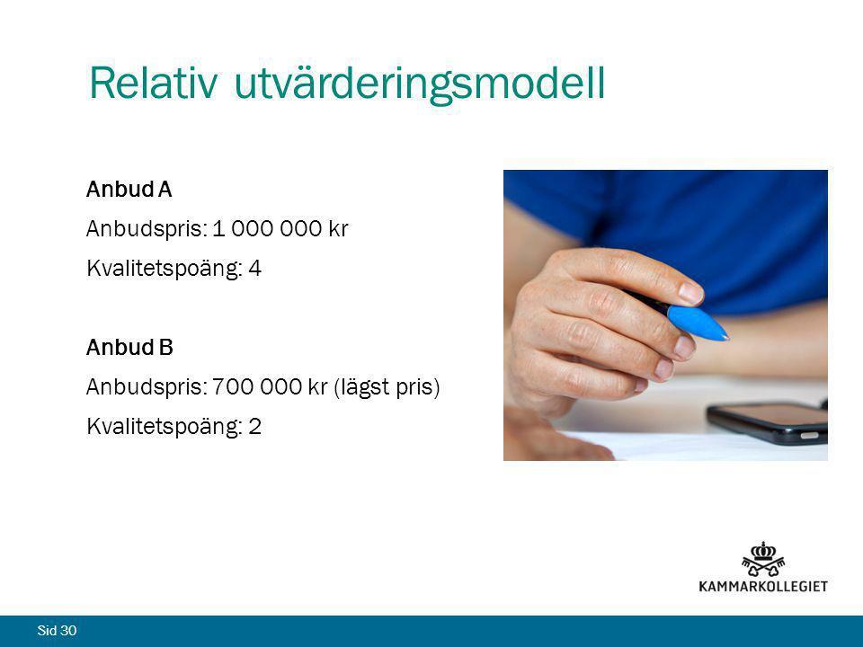 Relativ utvärderingsmodell