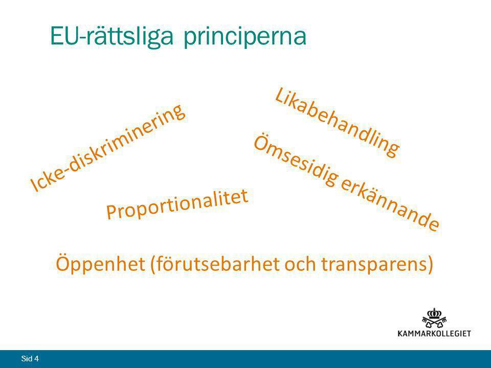 EU-rättsliga principerna