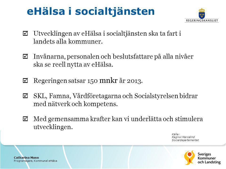 eHälsa i socialtjänsten