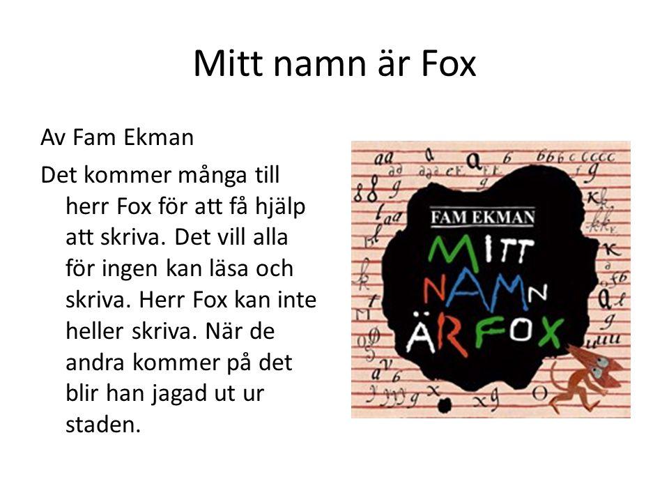 Mitt namn är Fox