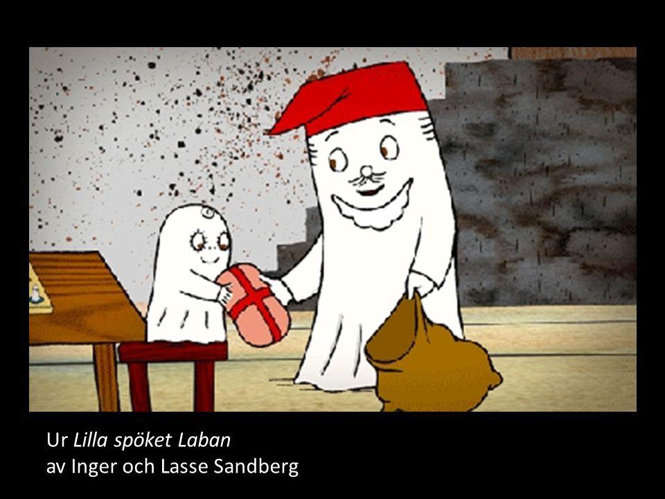 Ur Lilla spöket Laban av Inger och Lasse Sandberg
