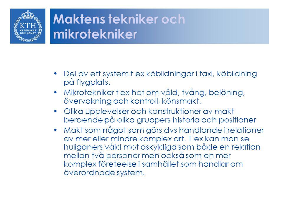 Maktens tekniker och mikrotekniker