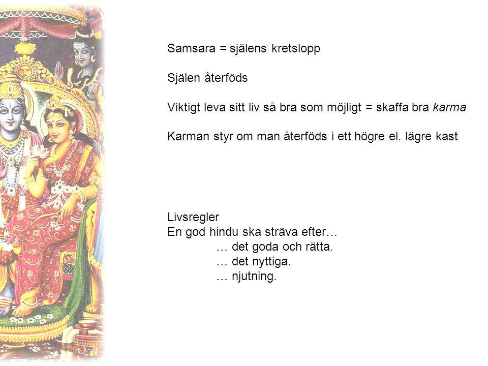 Samsara = själens kretslopp
