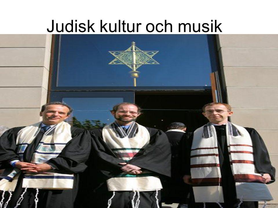 Judisk kultur och musik