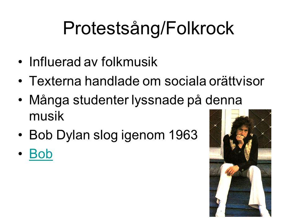 Protestsång/Folkrock