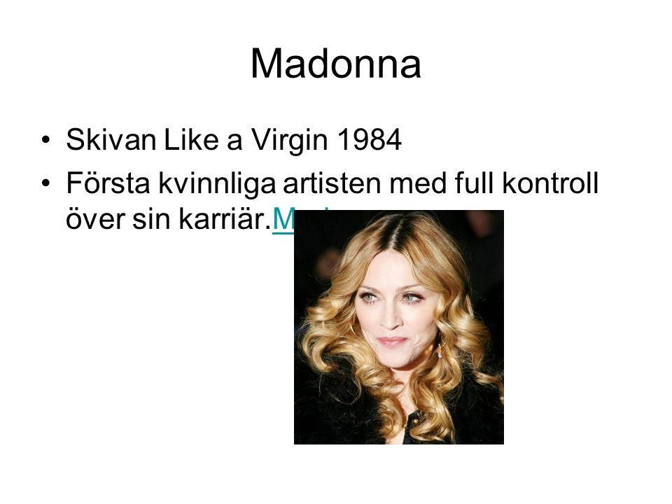 Madonna Skivan Like a Virgin 1984