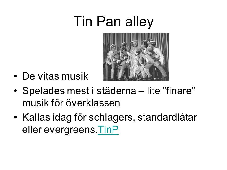 Tin Pan alley De vitas musik