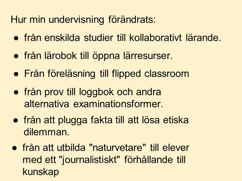 Journalistiskt förhållningssätt till kunskap