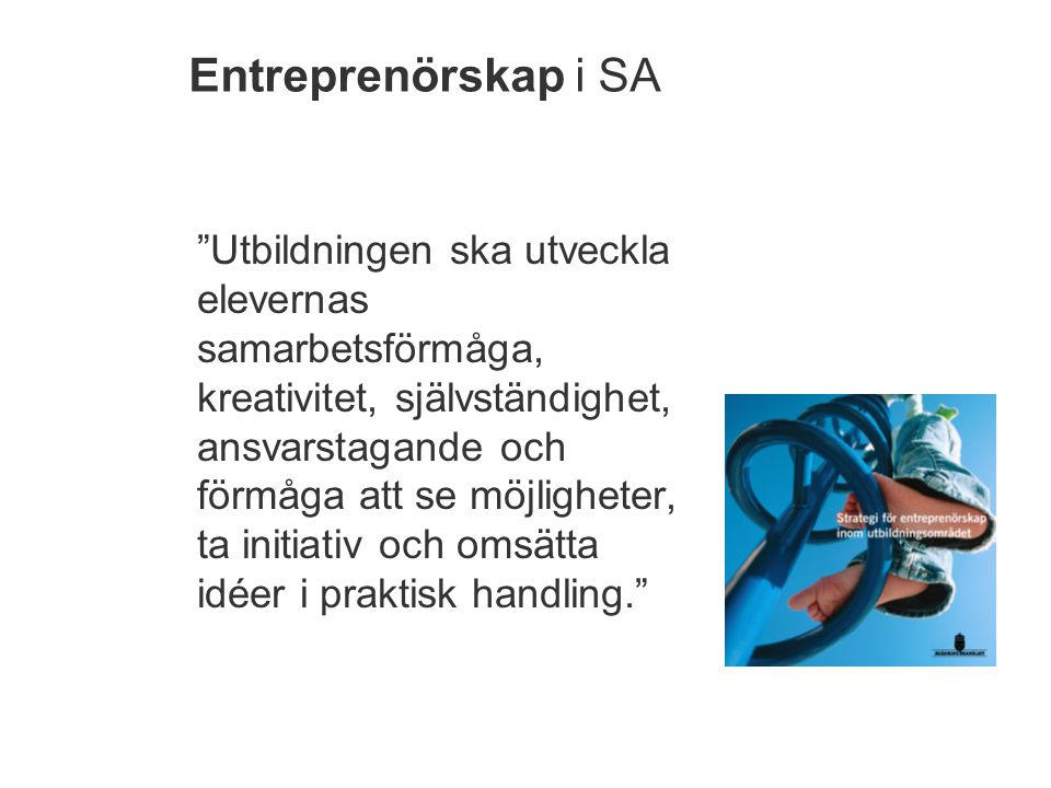 Entreprenörskap i SA