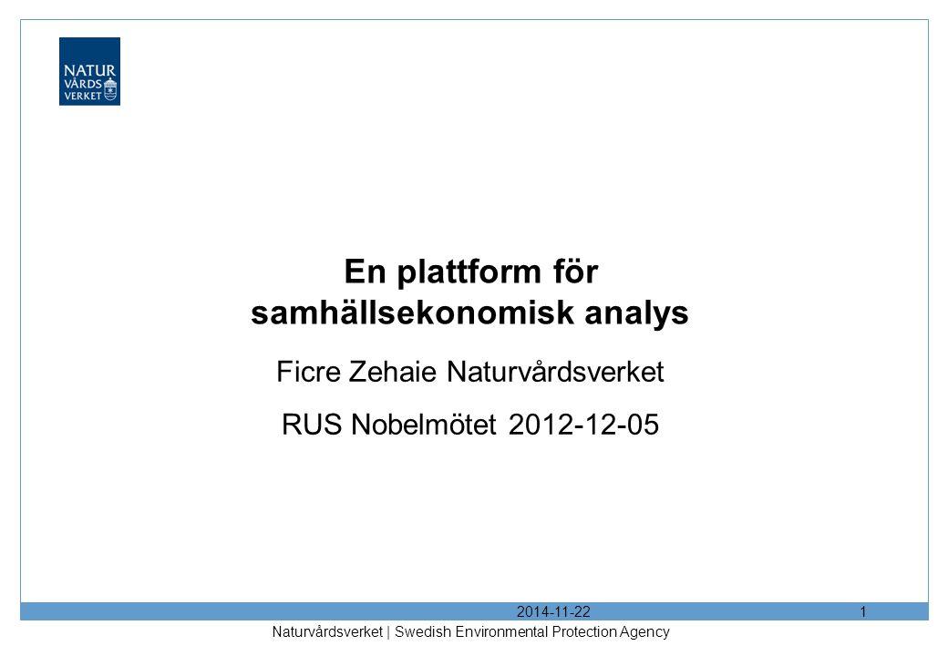 En plattform för samhällsekonomisk analys