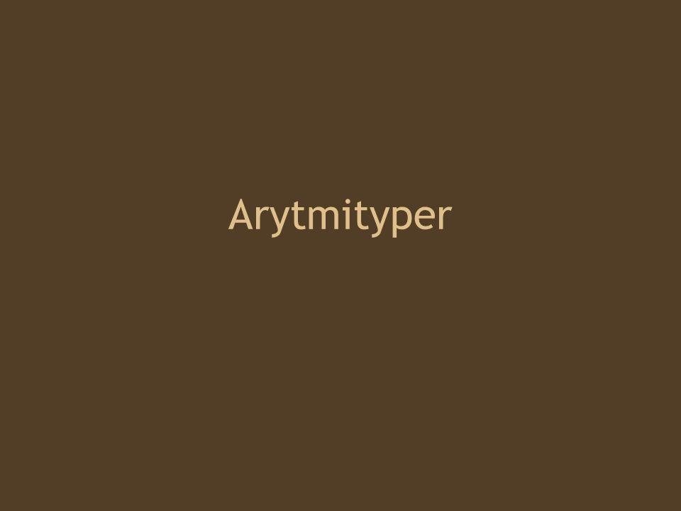 Arytmityper